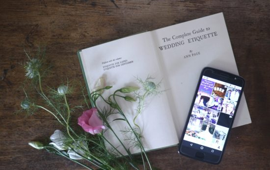 mobile phone wedding etiquette