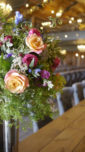 Leafy Couture Flower School in Wharfedale Grange